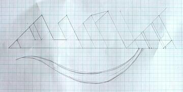 Drawing step 12