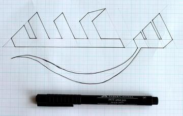 Drawing step 13