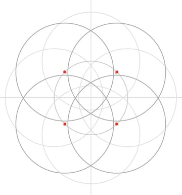 Armenian knot step 11