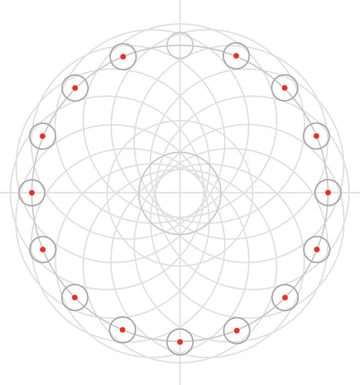 Armenian knot step 18