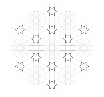 Pattern from the Cordoba Synagogue step 18