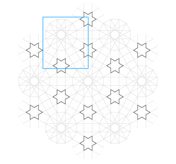 Pattern from the Cordoba Synagogue step 21