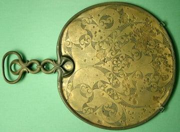 Celtic bronze mirror