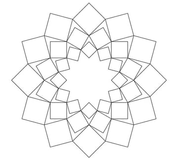 Variant with squares