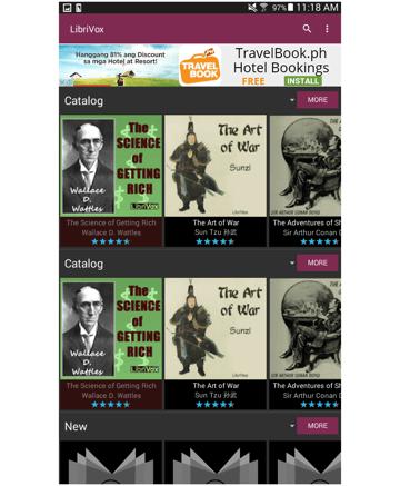 Librivox Audiobook Gallery