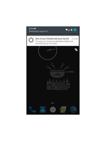 push notification outside app