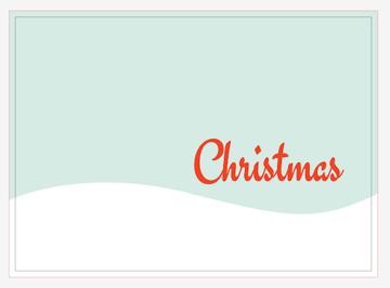 Christmas word added