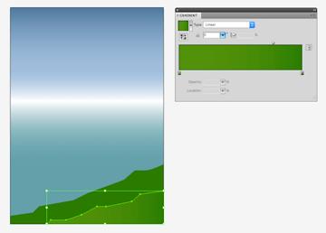 creating third background gradient