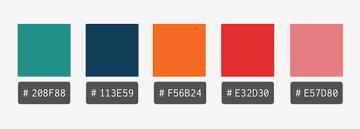 pattern color palette