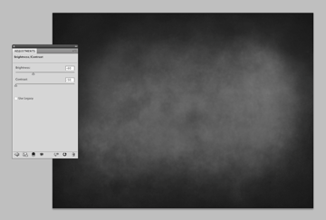 adjusting texture brightness and contrast
