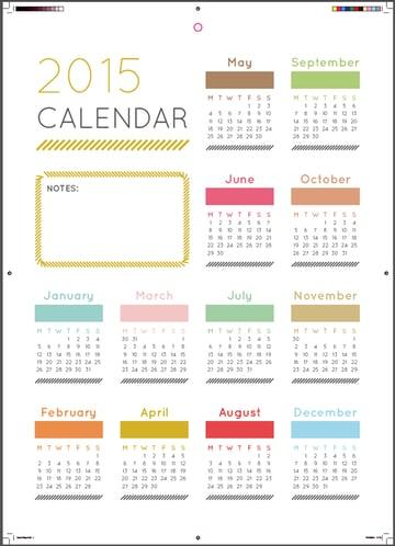 final calendar with marks