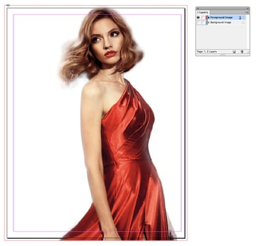 Foreground Image layer