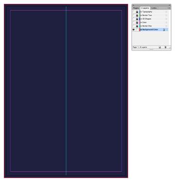 background rectangle frame
