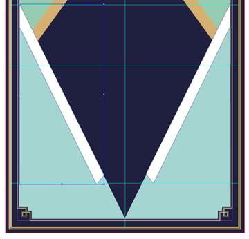 pasted shape