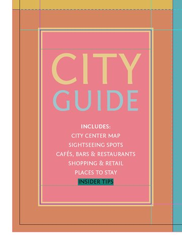 text on front of guide