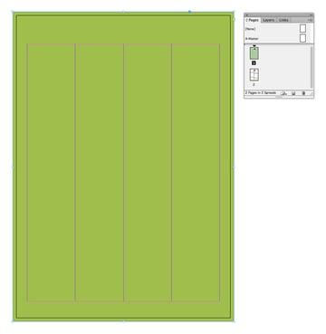 green menu color