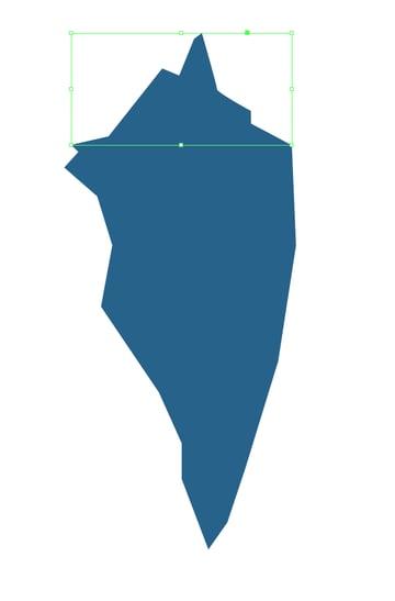 split iceberg