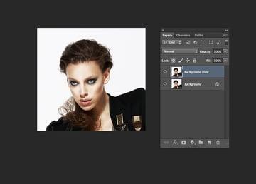 photo in photoshop