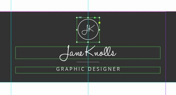 logo inserted into resume