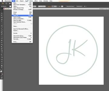 save as logo