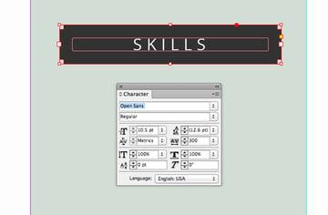 skills subheading