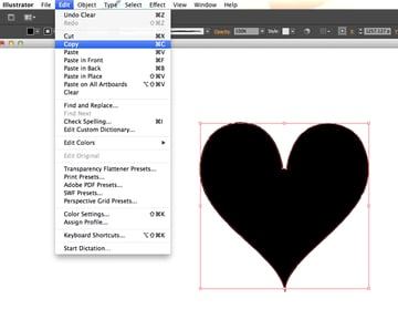 copied heart