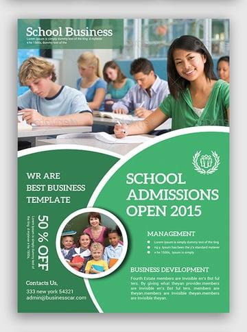 education flyer