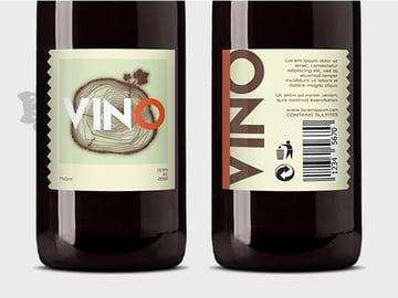 vino label