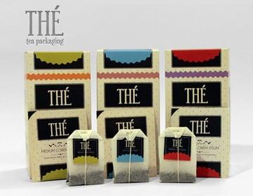 retro tea template