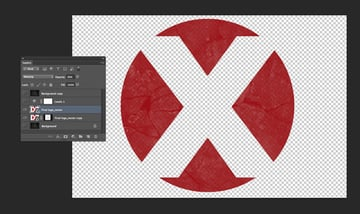 finished red logo