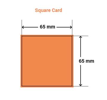 square card