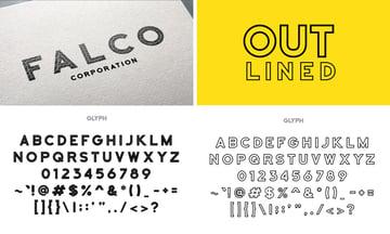 falco typeface