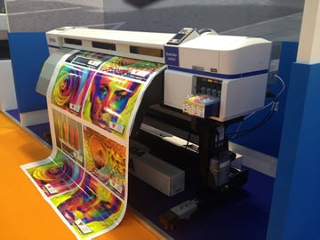 large format inkjet printer from Epson