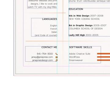 margins on page