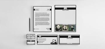 panda letter