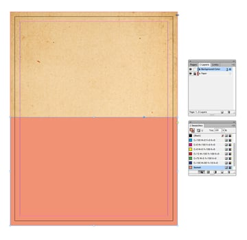 sunset rectangle