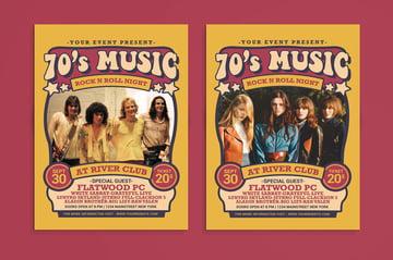 seventies flyer