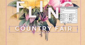 country fair text