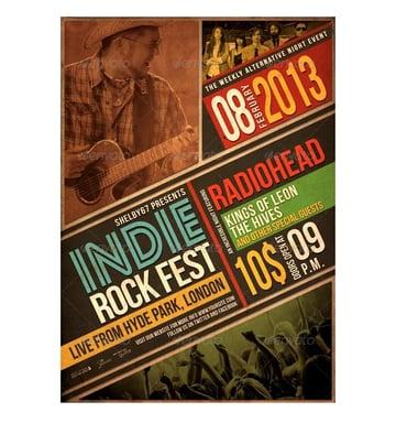 indie rock fest