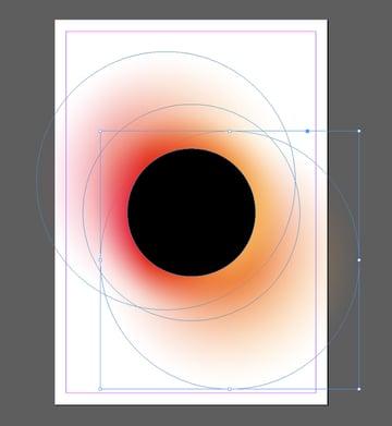 circle pasted