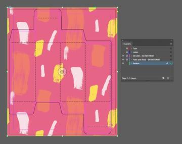 color splash patterns pack