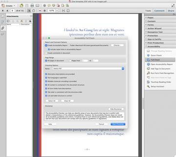 accessibility check pdf