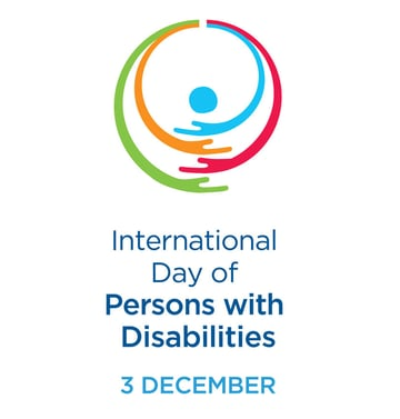 International Day of Persons with Disabilities logo