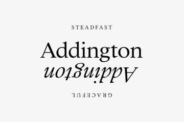 addington font