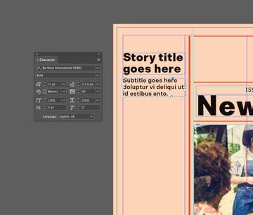 subtitle frame
