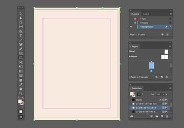 pale color rectangle
