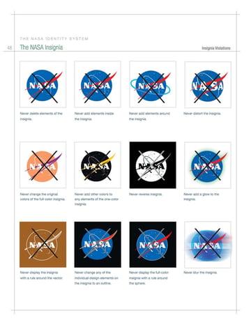 nasa forbidden logos