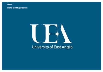 university of east anglia style guide cover