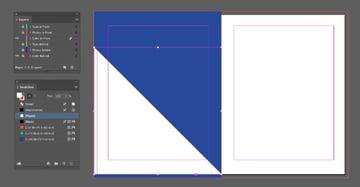 paper fill triangle