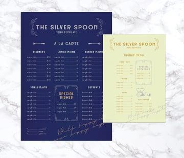 final menus